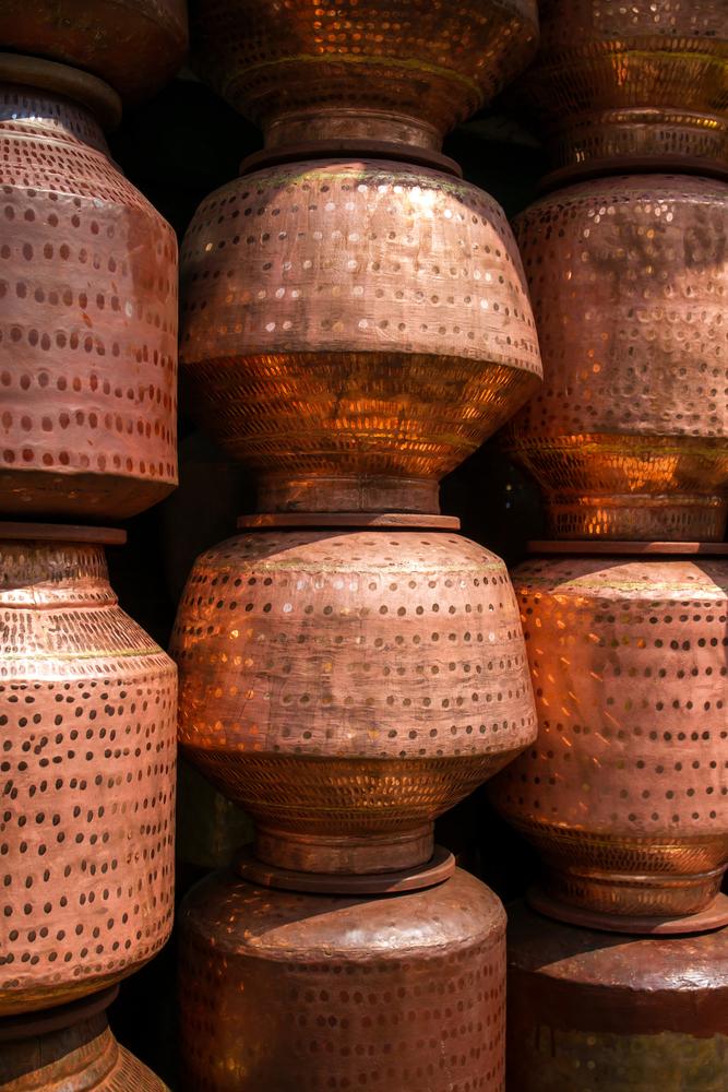 India's metal pots