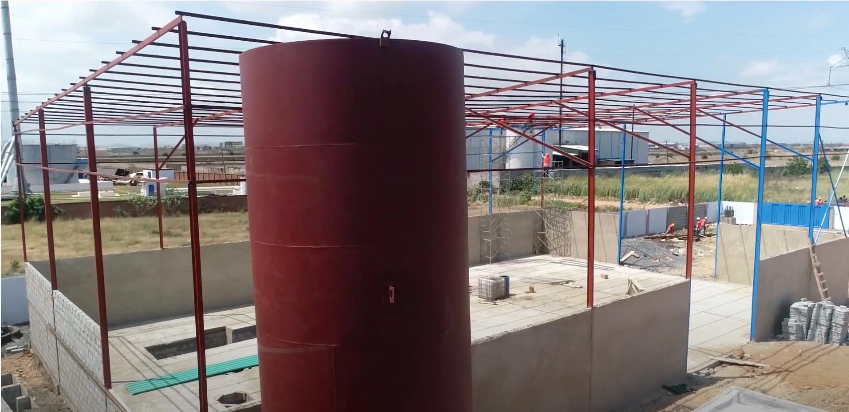 Ghana Building Progress