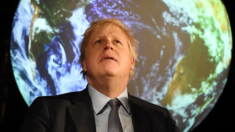 The UK will speed up its plans to cut carbon emissions by 15 years, ministers announced [BBC]